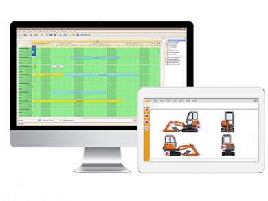 Specific features of harmony equipment rental software