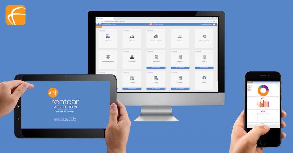 Faites le choix d'un logiciel de location de véhicules web et multi-support à la hauteur de vos attentes avec myrentcar
