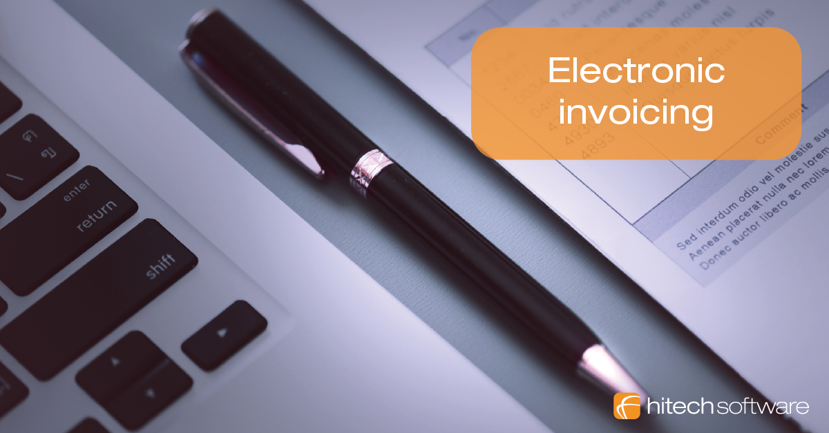 Benefits of electronic invoicing