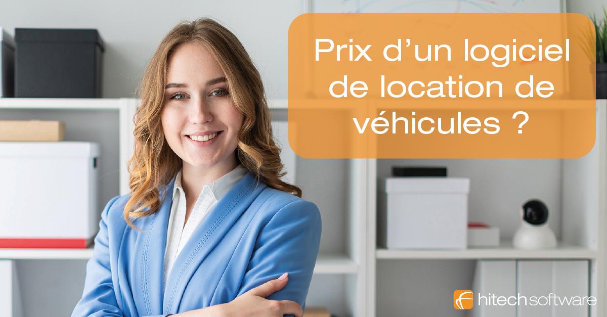 Quel est le tarif d'un logiciel de location de véhicules en ligne ?