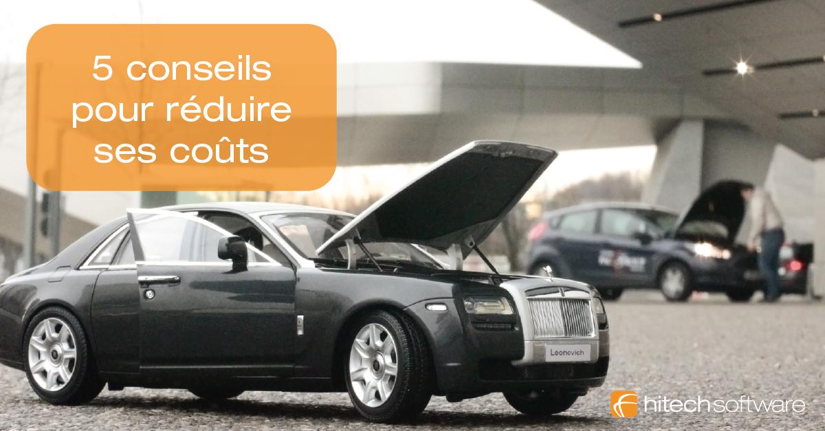 5 conseils pour réduire les coûts d'une agence de location automobile