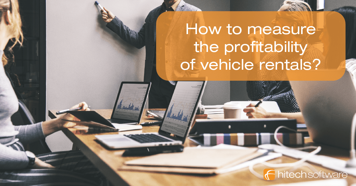 How to measure the profitability of vehicle rentals?