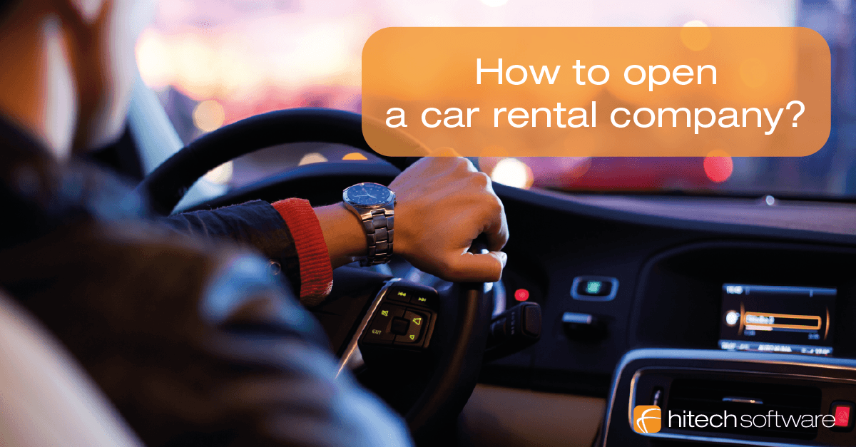 How to start a car rental business?