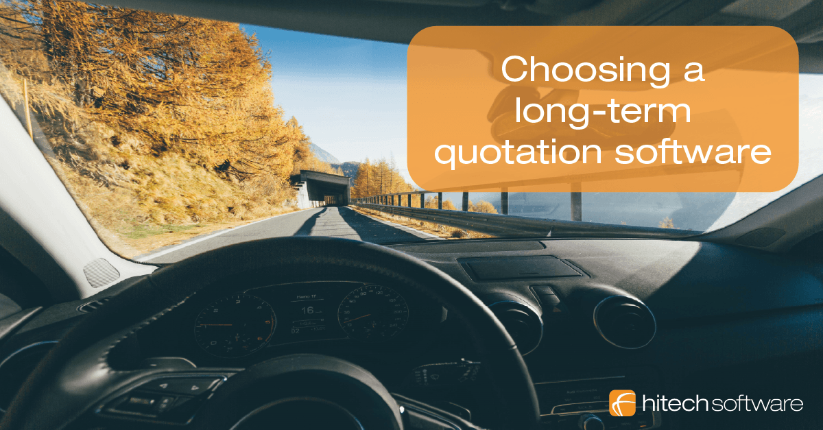 Choosing a long-term quotation software