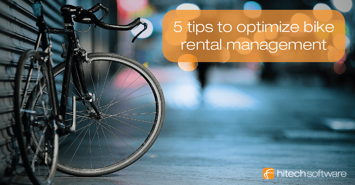 5 tips to optimize bike rental management