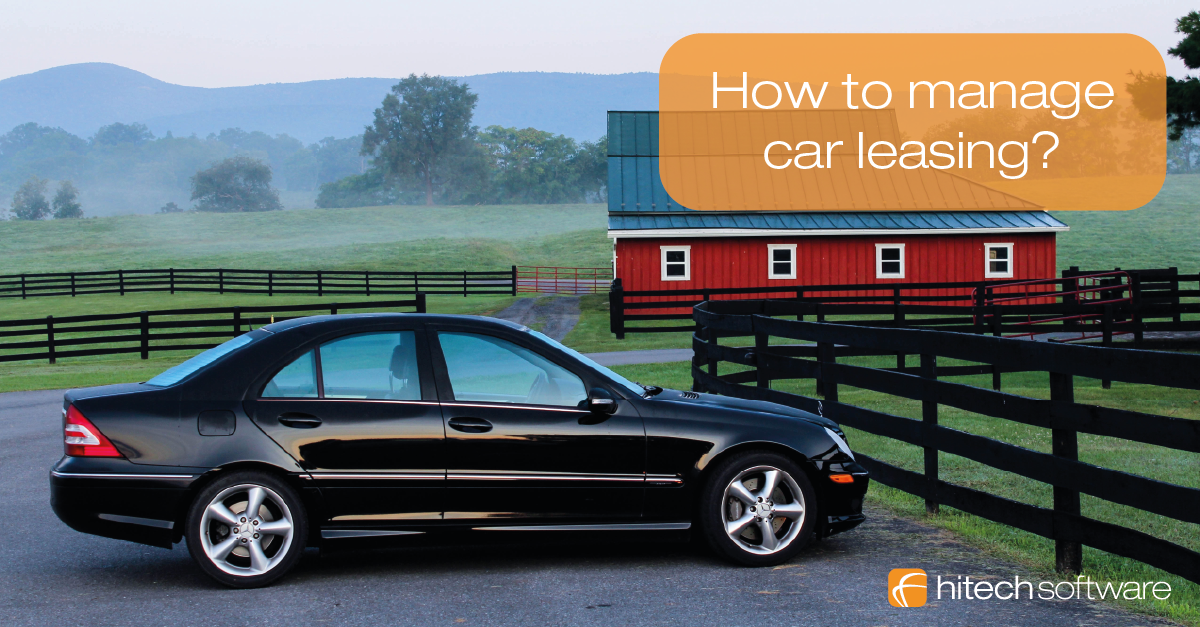 How to manage car leasing?