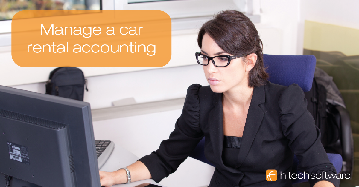 How to manage a car rental accounting?